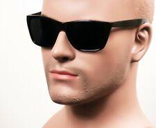 Retro Cholo Super Dark OG LOC Gangster Street Style Horn Rim Sunglasses 308SD