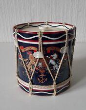 More details for vintage royal navy dieu et mon droit drum shaped ice bucket