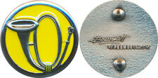 CHASSEURS ALPINS, Insigne de col droit, fond jaune, Boussemart Promodis (7633)