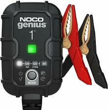 Noco Genius1 (Replaces G750) 1 Amp Smart Battery Charger Maintainer Desulfator