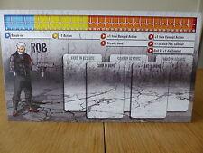 Zombicide-Rob-Carattere Pannello Di Controllo Card (solo scheda)