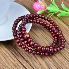 New Men/Women Infinity Multilayer Elastic Wood Beaded Bracelet Handmade Jewelry