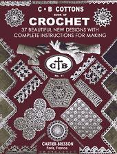 Cartier-Bresson C B Cottons Book of Crochet c.1938 - Vintage Patterns for Laces