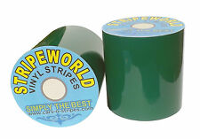 50mm Dark Green Vinyl Stripe for car  caravan or boat. Sold by the metre