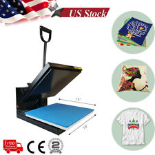 15x15 Digital Clamshell Heat Press Transfer Sublimation Machine Diy T Shirt Us