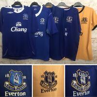 Everton Football Shirt, 2004/05, 2006/07, 2010/11, 2011/12, Great, MINT,