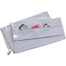 PEARL Mikrofaser-Sport-Handtuch mit Lehnen-Überzug und Tasche, 50 x 100 cm