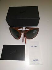 PERSOL 714 Steve mc Queen  54 FOLDING   pieghevole havana lenti green POLAR