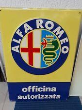 Insegna Alfa Romeo Originale