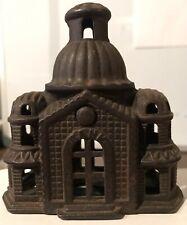 Cast Iron Mosque Still Bank. (E193)