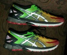 hot sale online d4c87 60295 ASICS Gel-Kinsei 6 Running Shoes Green Yellow Red (T644N) US MEN S SIZE