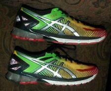 hot sale online a4edd fba1b ASICS Gel-Kinsei 6 Running Shoes Green Yellow Red (T644N) US MEN S SIZE