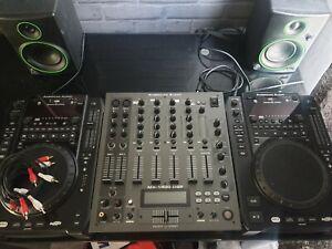 DJ CDJ AMERICAN AUDIO DJ DECKS AND MIXER