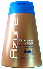 Azure Extreme Tingle Bronzer Indoor Tanning Bed Lotion By Devoted Creations