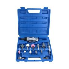 """Air Die Grinder Grinding And Accessory Kit With 1/4"""" and 1/8"""" Collet 15pc Set"""