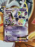 Mewtwo EX 52/108 XY Evolutions Holo Ultra Rare Pokemon Card Near Mint