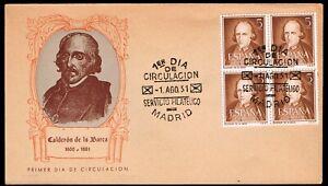 España - Edi o 1071 Bl. 4 - Sobre de primer día
