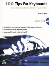"""""""100 Tips For Keyboards-You Should Have Been Told-Part 1"""" Music Book/Cd-New-Sale"""