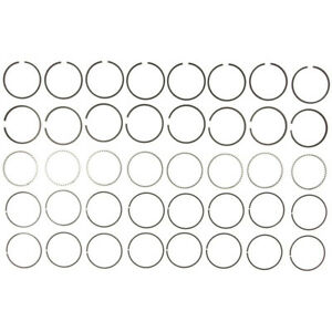 """Mahle Clevite Piston Ring Set 40141CP.060; Moly 4.185"""" Bore Drop-In Replacement"""