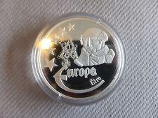 PIECE COMMEMORATIVE EUROPE IRLANDE EIRE 1997 AVEC CERTIFICAT GOLDINA P008155