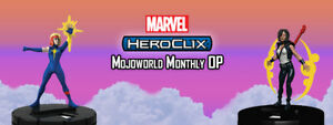 Heroclix Escape Mojoworld Monthly OP Kit M17-013 -014 -015 NEW Sealed