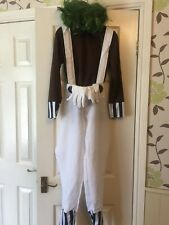 Oompa Loompa costume from Charlie and chocolate factory Child Large (L)