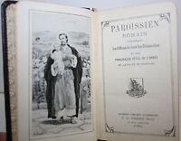 Paroissien  Romain en latin et en français