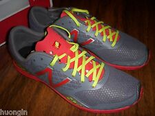 New Balance MXCS900G Gray/Red Competition Spike Track Running Shoes MEN'S 9.5
