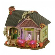 Department 56 Halloween Village 2017 THE SKELETON HOUSE 4056702 Dept 56 Trick or