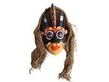 Wandmaske Holz Wanddekoration  Maske Bali