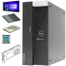 Dell T3610 Workstation Xeon E5-1620v2 Ram 16GB SSD 256GB Quadro NVS300 W10 B-Wa
