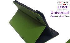 Universale Flip Supporto Pieghevole Case per Amazon Kindle Cinque HD 7inch Verde