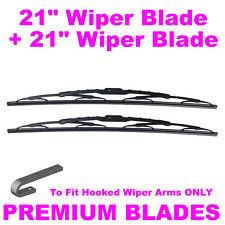 "Multi-Clip 21""  Inch & 21"" Inch Pair Front Windscreen Wiper Blades"