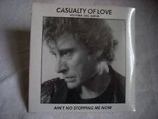 CD Johnny Hallyday CASUALTY OF LOVE (en italien)-AIN'T NO STOPPING ME NOW-Neuf