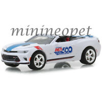 GREENLIGHT 30003 INDY 500 2017 CHEVROLET CAMARO SS CONVERTIBLE 1/64 WHITE