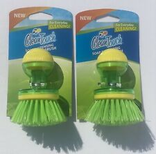 Clean Touch Soap Dispensing Palm Brush ~ Set of 2