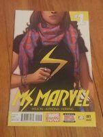 Ms. Marvel #1 (2014) NM Kamala Khan Becomes the New Ms. Marvel **3rd PRINT**