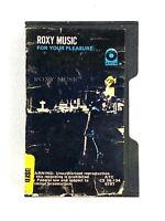 ROXY MUSIC For Your Pleasure RARE Pink Cassette Typo Plastic Case (1973 ATCO)