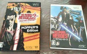 No More Heroes 1・2 Hopper's Edition Set Desperate Struggle Limited Collectors