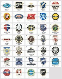 Badge Pin: European football clubs Norway Part 1
