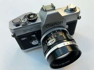 Canon FT body +1.4 / 50 mm