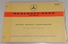 Teilekatalog Mercedes Benz Diesel Motor OM 616 Stand 06/1973