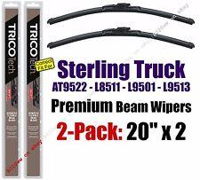 Wipers 2pk Beam fit 1999-2000 Sterling Truck AT9522 L8511 L9501 L9513 19200x2