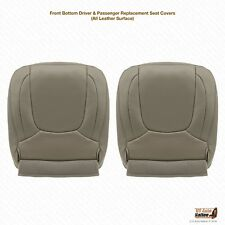2004 2005 Dodge Ram 2500 Lamarie DRIVER & PASSENGER Bottom Leather Cover TAUPE