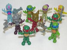 Viacom Mini Teenage Mutant Ninja Turtles 9 x Figur 2017