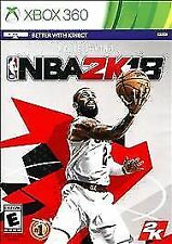 XBOX 360 NBA 2K18 EARLY TIP OFF Basketball Game New Sealed (Better with Kinect)