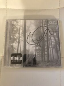 Rare Signed Autographed Taylor Swift Folklore Deluxe CD NEW Genuine Authentic