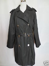 Manteau GIANFRANCO FERRE JEANS trench 2in1 44 46 (s) noir tip top/ml1