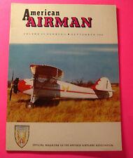 AMERICAN AIRMAN MAGAZINE SEPT/1960..SCALE MODEL JN4D2..HOW THE C-3 GOT TO YAKIMA