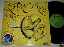 STEEL BAND SHELL HOTEL BAKOUA LP palmarès Rec. France 1st Press 70's Caribbean